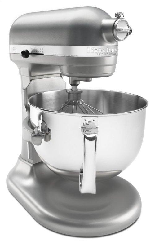 Pro 600 Series 6 Quart Bowl-Lift Stand Mixer - Nickel Pearl