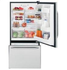 GE® ENERGY STAR® 18.1 Cu. Ft. Stainless Bottom-Freezer Drawer Refrigerator