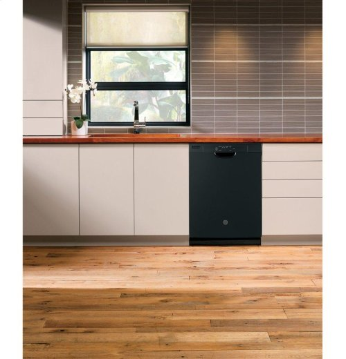 GE® Dishwasher with Front Controls and Power Cord