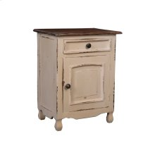 CC-CHE502TLD-SMRW  Cottage Two Tone Storage Chest