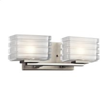 Bazely Collection Bazely 2 Light Halogen Wall Sconce NI