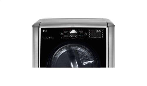 9.0 cu.ft. Mega Capacity TurboSteam Gas Dryer w/ On-Door Control Panel