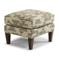 Ace Fabric Ottoman Product Image