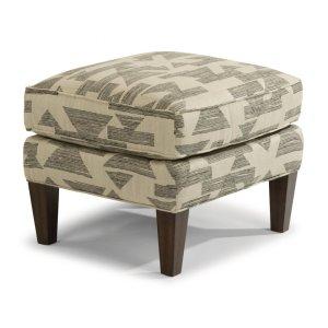 FLEXSTEELAce Fabric Ottoman