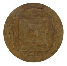 "Rustic Mahogany Dining Table Top 54"""