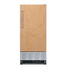 """15"""" Undercounter/Freestanding Custom Front Ice Machine - DFIM (Left Hinge Door)"""