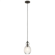 Riviera Collection Riviera Round 1 Light Mini Pendant OZ