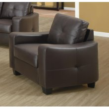 Jasmine Casual Dark Brown Chair