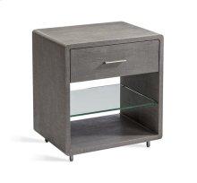 Alma Bedside Chest - Grey