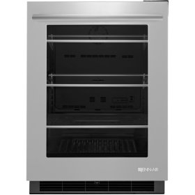 "Jenn-Air® 24"" Under Counter Refrigerator, Euro-Style Stainless"