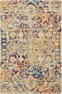 Cordoba Crd02 Multicolor Rectangle Rug 5'3'' X 7'3''