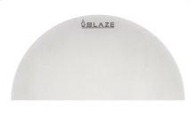 Blaze Half Round Stainless Steel Heat Deflection Plate