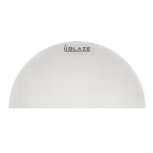 BLAZE GRILLSBlaze Half Round Stainless Steel Heat Deflection Plate