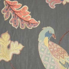 Exotica Charcoal Fabric