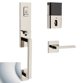 Satin Chrome Evolved Minneapolis 3/4 Escutcheon Handleset