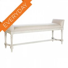 Simon Parker Gray Long Bench