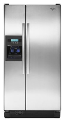Whirlpool® 22 cu. ft. Side-by-Side Refrigerator with In-Door-Ice® System