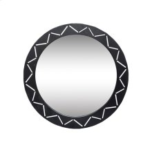Black Laser Cut Mirror
