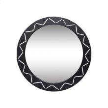 Black Laser Cut Mirror