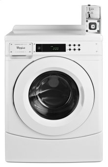 """27"""" Commercial High-Efficiency Energy Star-Qualified Front-Load Washer Featuring Factory-Installed Coin Drop with Coin Box"""