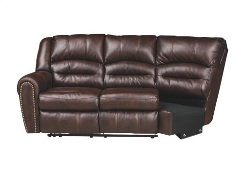 512-0248/0249  Sectional - Manzanola Chocolate