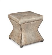 Ridgeway Ottoman - Gator Tail Burnished Product Image