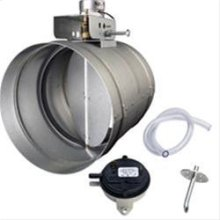 "10"" Universal Make-Up Air Damper"