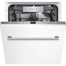 """200 series DF250740 Fully integrated Euro tub, appliance height 32 3/16"""", width 18"""" (45 cm)"""
