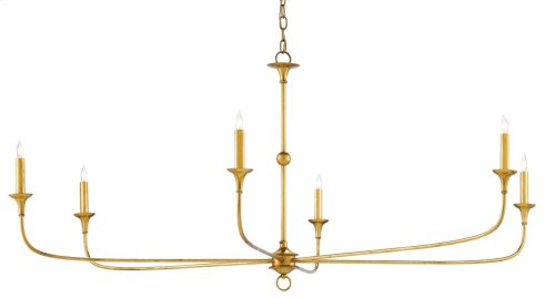 Nottaway Gold Large Chandelier