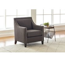 Luca Club Chair- Easy Living Charcoal Product Image