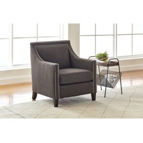 Luca Club Chair- Easy Living Charcoal