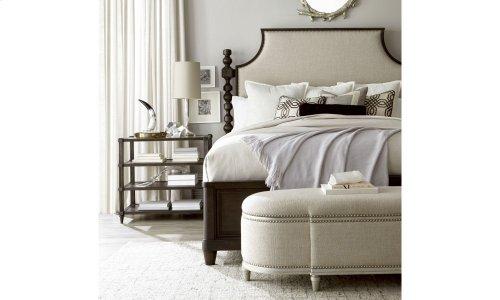 Morrissey Healey California King Upholstered Panel Bed