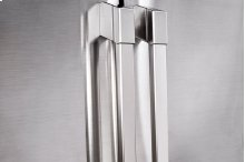 """Heritage 42"""" Built-In Side-by-SideRefrigerator, in Stainless Steel with Pro Style Handle"""