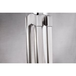 "DacorHeritage 42"" Built-In Side-by-SideRefrigerator, in Stainless Steel with Pro Style Handle"