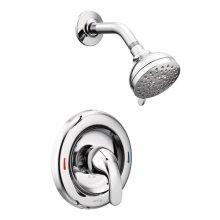 Adler chrome posi-temp® shower only