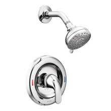 Adler chrome posi-temp® shower only