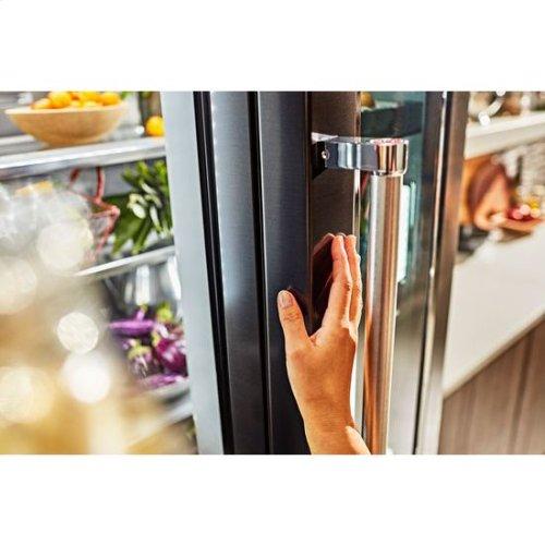 KitchenAid® 23.5 cu. ft. 36 - Black Stainless