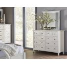 Paragon Dresser with White Finish Product Image