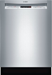 """24"""" Recessed Handle Dishwasher 300 Series- Stainless steel SHE53TL5UC"""