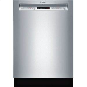 "Bosch24"" Recessed Handle Dishwasher 300 Series- Stainless steel SHE53TL5UC"