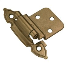 Self-Closing 3/8 In. Offset Cabinet Hinge (2-Pack)