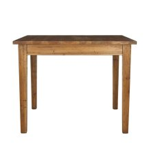 Nathan Wood Dining Table - Brown Pine