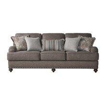 HUGHES 17200S Phineas Driftwood Sofa