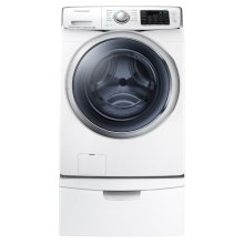 WF6300 4.5 cu. ft. Front Load Washer with SuperSpeed (White)
