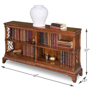 Sarreid LtdDouble Chepstow Bookcase