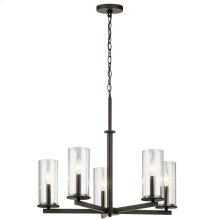 Crosby Collection Crosby 5 Light Chandelier OZ