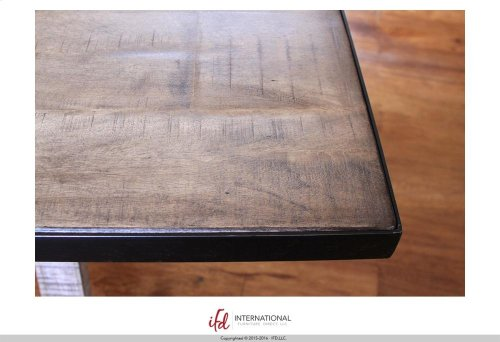 Dining Table with metal accents - KD System