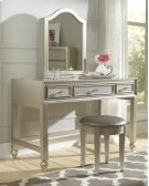 Li'l Diva Desk/Vanity with Stool Product Image