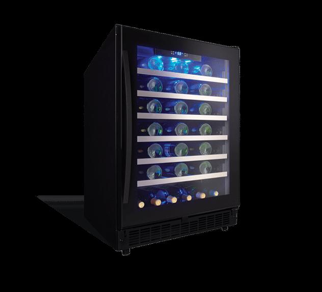 Sswc056d1b Danby Silhouette Select 48 Bottle Wine Cooler