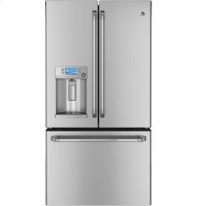 GE Cafe Series ENERGY STAR® 23.1 Cu. Ft. Counter-Depth French-Door Refrigerator